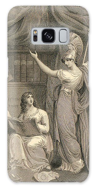 Minerva Directing Study To The  Attainment Of Universal Knowledge Galaxy Case