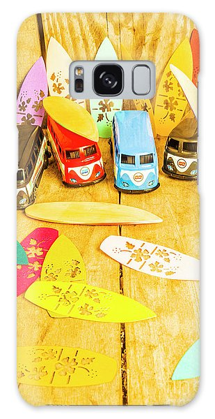 Old Car Galaxy Case - Mini Van Adventure by Jorgo Photography - Wall Art Gallery