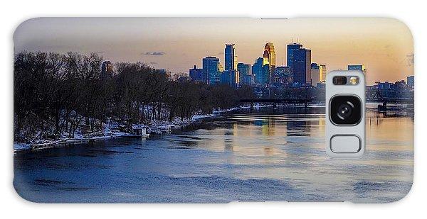 Minneapolis Skyline Galaxy Case