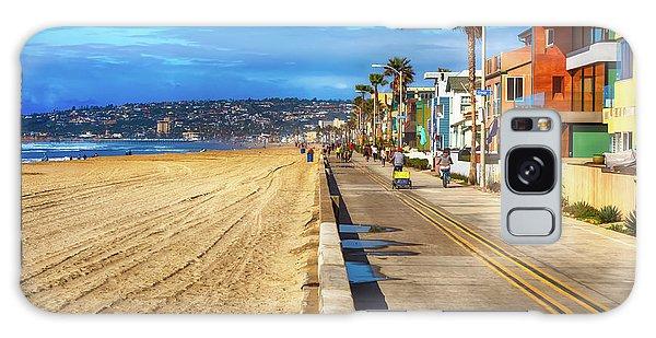 Mission Beach Boardwalk Galaxy Case