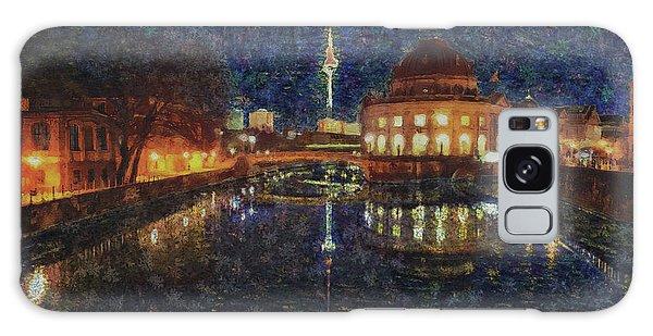 Mist Of Impressionism. Berlin. Galaxy Case