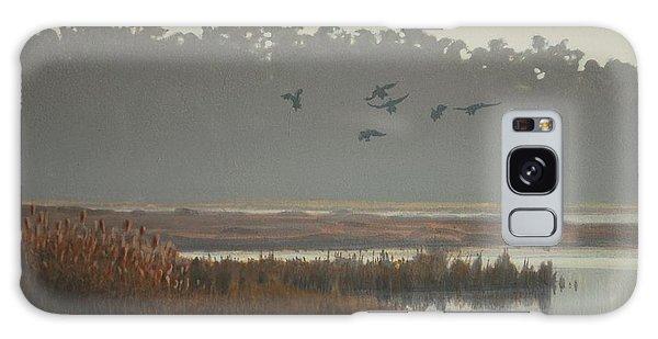 Misty Marsh Galaxy Case