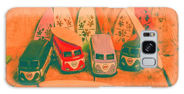 Old Car Galaxy Case - Modelling A Surfing Vacation by Jorgo Photography - Wall Art Gallery