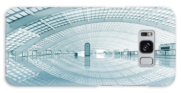 Airport Galaxy Case - Modern Hall Of Subway Station  At T3 by Ssguy