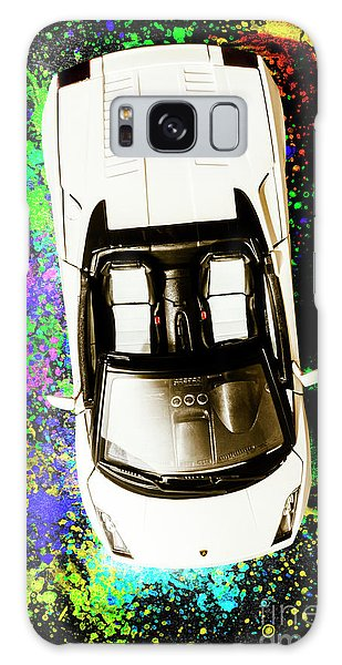 Sports Car Galaxy Case - Modern Masterpiece by Jorgo Photography - Wall Art Gallery