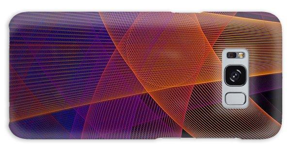 Fractal Design Galaxy Case - Modern Pink, Purple And Orange Fractal by Jennifer Gottschalk