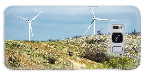 Modern Windmill Galaxy Case