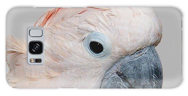 Moluccan Cockatoo Galaxy Case