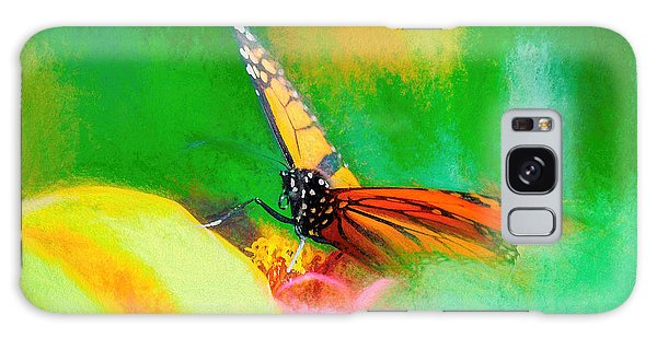 Monarch Butterfly Beautiful Smudge Galaxy Case