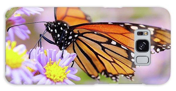 Monarch Close-up Galaxy Case
