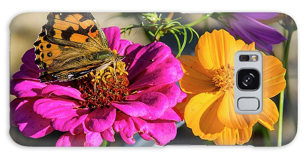 Monarch On Flower Galaxy Case