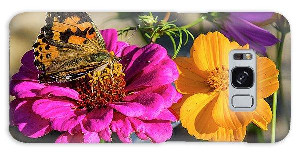 Monarch On Flower Galaxy Case