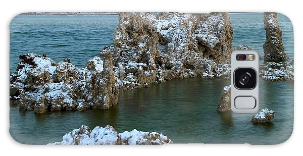 Mono Lake Tufa Towers Sunrise Galaxy Case