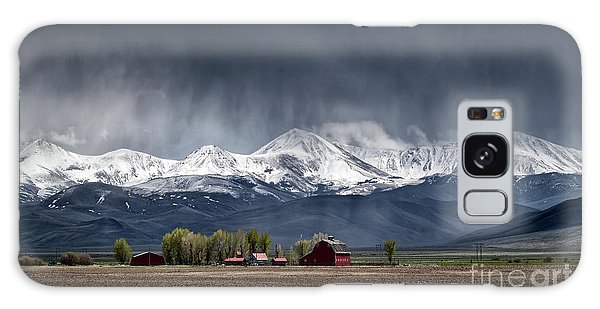 Montana Homestead Galaxy Case