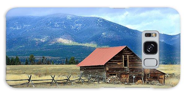 Montana Ranch Building Galaxy Case