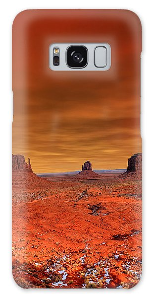 Southwest Usa Galaxy Case - Monument Valley Arizona With Evening by Paul B. Moore