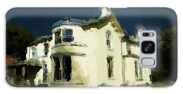 Moody Sky Over Allenbank Painting Galaxy Case