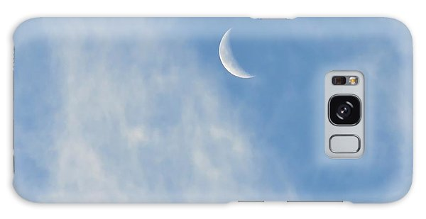 Moon In Libra - Crescent Farewell Galaxy Case