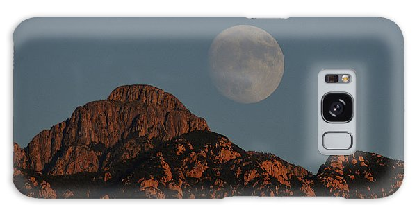 Moon Rise Over Mount Wrightson  Galaxy Case