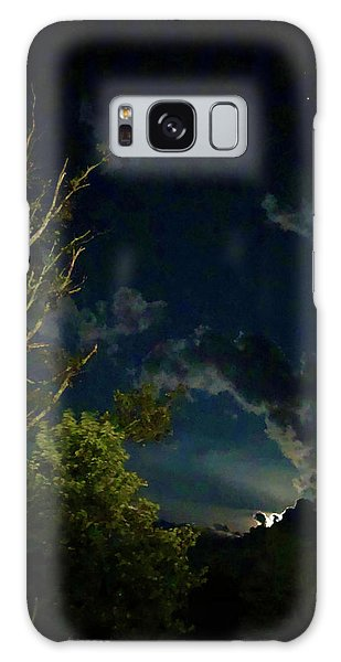 Moonlight In The Trees Galaxy Case