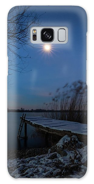 Moonlight Over The Lake Galaxy Case