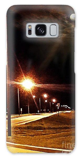 Moonlight Walk Galaxy Case