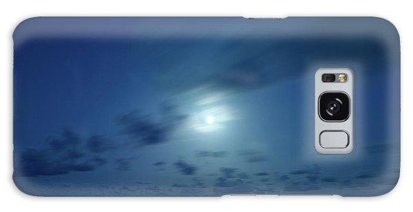 Moonrise Over The Sea Galaxy Case