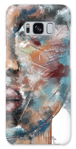 Moonshine-woman Abstract Art Galaxy Case