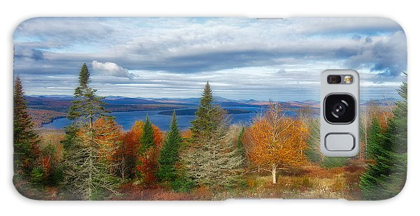Mooselookmeguntic Lake Fall Colors Galaxy Case