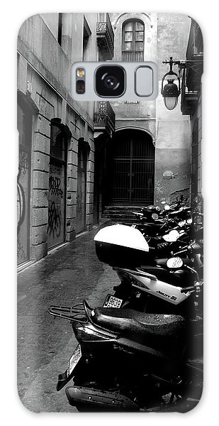 Galaxy Case featuring the photograph Moped by Edward Lee