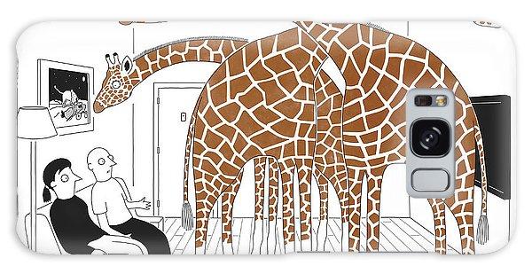 More Giraffes Galaxy S8 Case