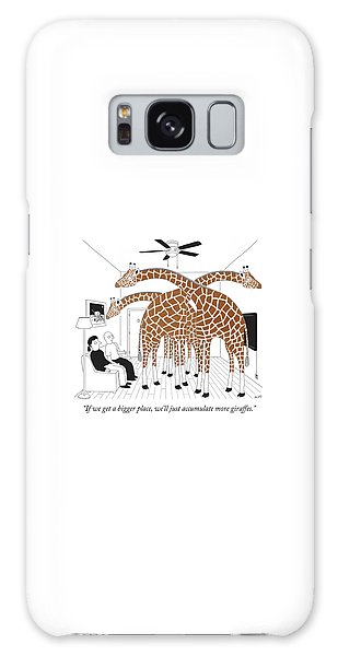 More Giraffes Galaxy Case