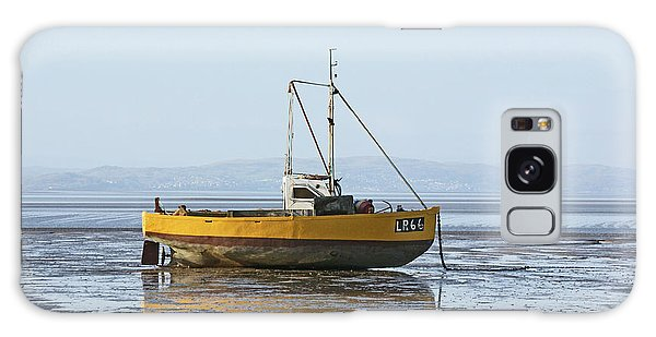 Morecambe. Yellow Fishing Boat. Galaxy Case