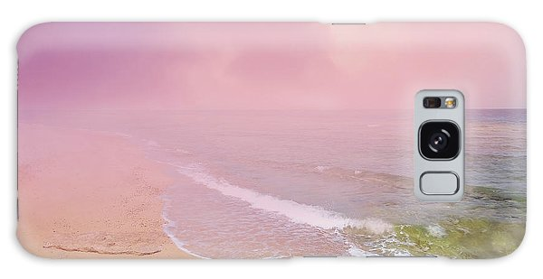 Morning Hour By The Seashore In Dreamland Galaxy Case