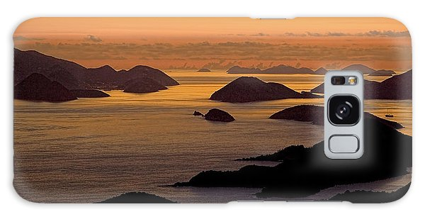 Morning Islands Galaxy Case