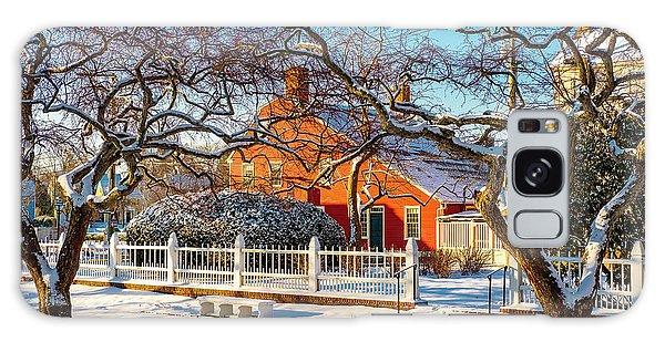 Morning Light, Winter Garden. Galaxy Case