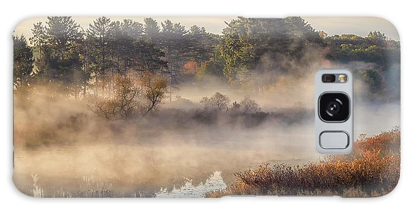 Morning Mist On The Sudbury River Galaxy Case