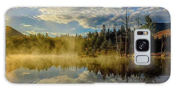 Morning Mist, Wildlife Pond  Galaxy Case