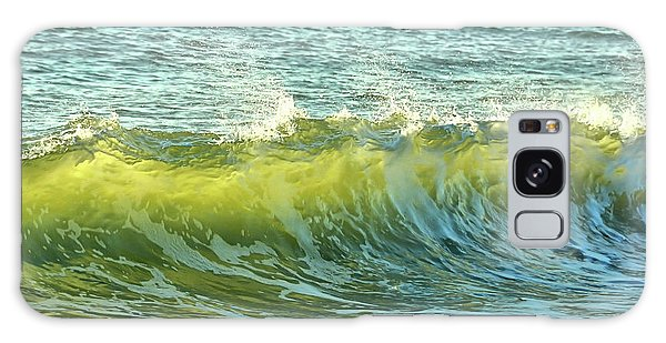 Morning Ocean Break Galaxy Case