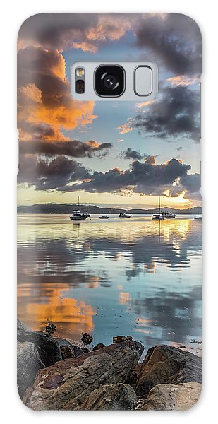 Morning Reflections Waterscape Galaxy Case