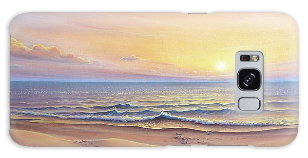 Morning Sea Breeze Galaxy Case