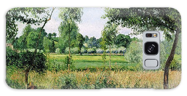 Country Living Galaxy Case - Morning Sunlight Effect, Eragny - Digital Remastered Edition by Camille Pissarro