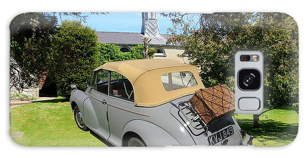 Morris Minor Grey Convertible Galaxy Case