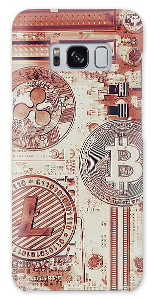 Technology Galaxy Case - Motherboard Money by Jorgo Photography - Wall Art Gallery