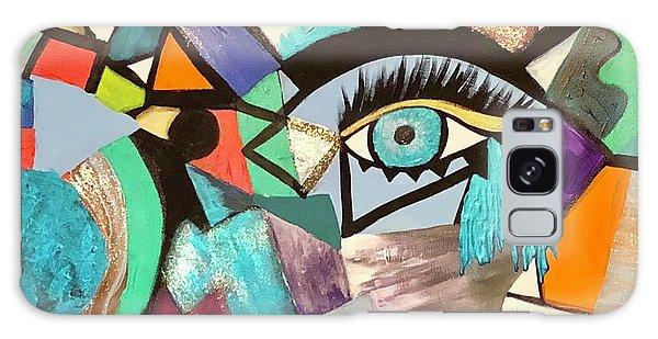 Motley Eye 4 Galaxy Case