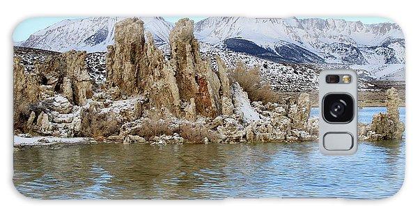 Mount Dana At Dawn  Mono Lake Galaxy Case
