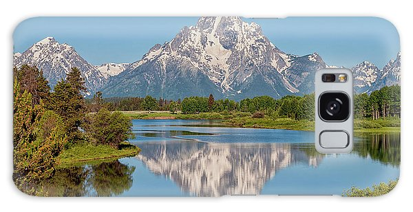 River Galaxy Case - Mount Moran On Snake River Landscape by Brian Harig