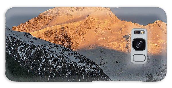 Mount Sefton Sunrise Galaxy Case