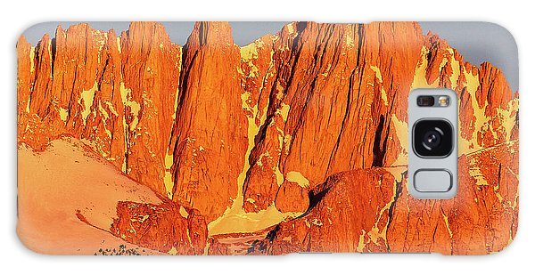 Mount Whitney Sunrise Galaxy Case