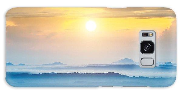 Dawn Galaxy Case - Mountain And Mist At Kra-bi, Thailand by Noppharat Studio 969